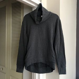 Lululemon Heather Gray Pullover Sweatshirt